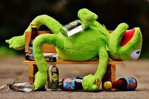 איש שיכור